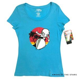 tokidoki x Marvel Silver Surfer Blue T-Shirt